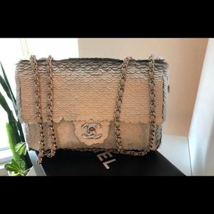 b31ca6b9c09c Women Chanel Sequin Bag on Poshmark